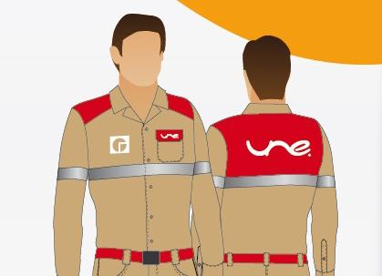 uniformes une telecomunicaciones